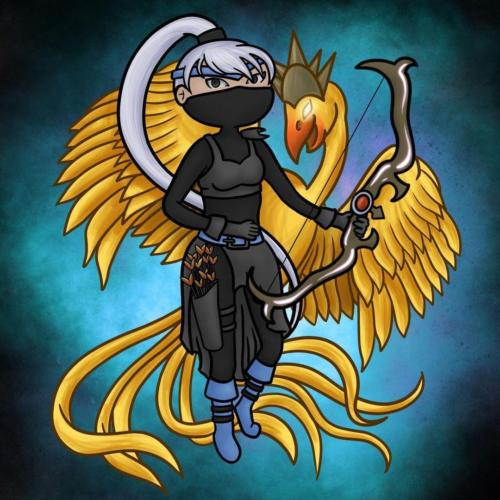 """""""Assassin Outfit and Paladin Familiar"""" by Callie Aena"""