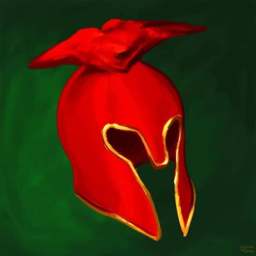 """Demon Helmet"" by David Takao"