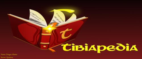 """Tibiapedia Logo"" by Dragus Alastor (Quintera)"