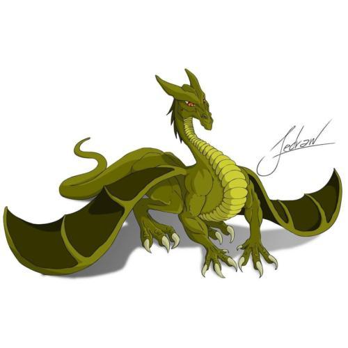 """""""Dragon"""" by Fedraw Art"""