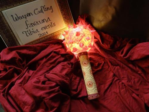 """Fiery Basher (Replica)"" by Favarona (Harmonia)"