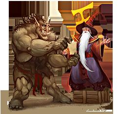 Ferumbras & Ogre