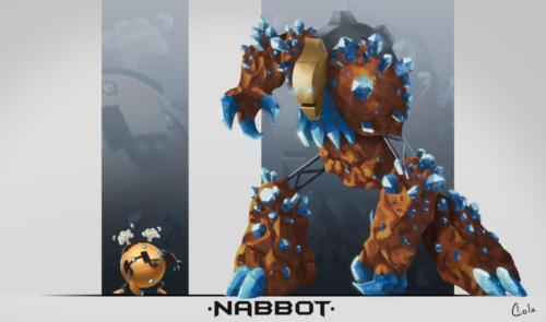 """""""NabBot"""" by Juh Mong"""