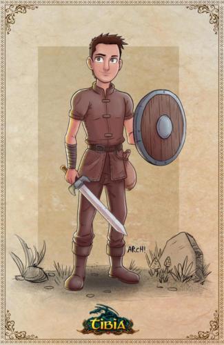 """""""Newbie Knight"""" by Elias Archanjo"""