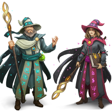 Rune Master Outfits Artwork