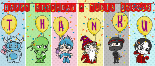 TibiaBosses Birthday Card Myth Mine (1)