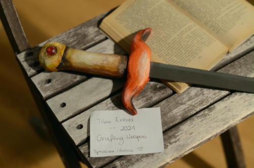 """Fire Sword"" by Tynusiiaa (Antica)"