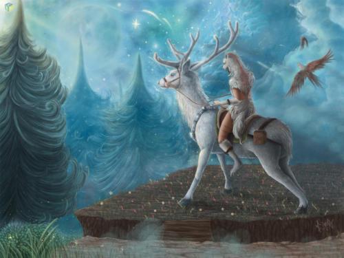 """Kingly Deer"" by Cindy Avelino"
