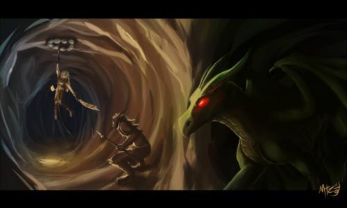 """""""The First Dragon Hunt"""" by Marctonio-desu"""