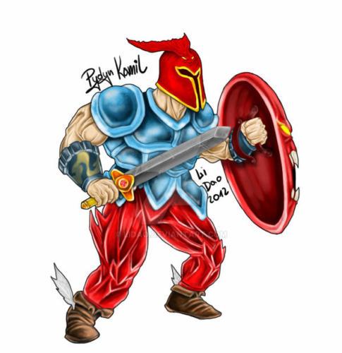 """Elite Knight"" by Li Dao"