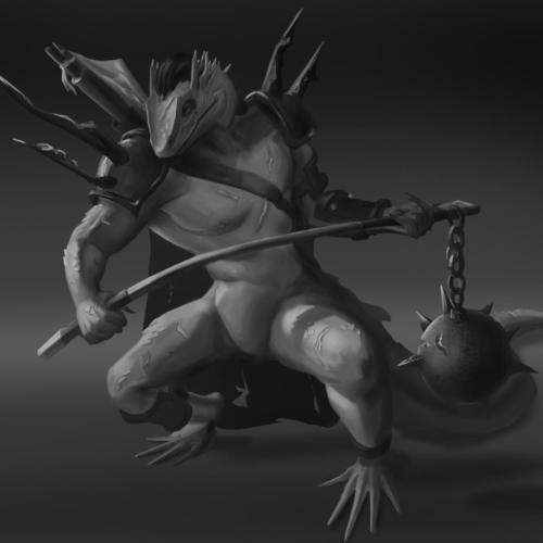 """Lizard Chosen"" by Francisco Ferreira"