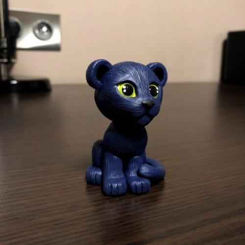 Midnight Panther Doll by Makadamia (Bona)