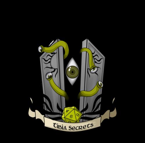 """TibiaSecrets Logo"" by Tirano Flamel (Belobra)"