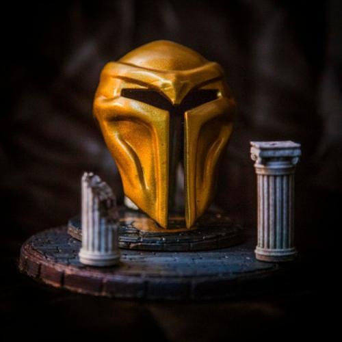 """""""Golden Helmet"""" by Lux 3D"""