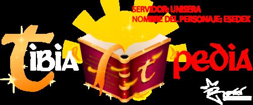 """Tibiapedia Logo"" by Esedex (Unisera)"